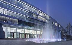 北京汽车产业研发基地玻璃幕墙设计施工案例