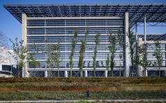 国电新能源技术研究院玻璃幕墙施工案例