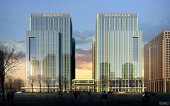 北航南区科技楼玻璃幕墙施工案例