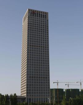 中国银行安徽省分行新营业大楼石材幕墙设计效果图
