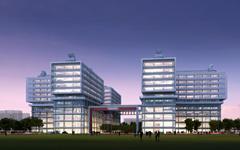 中海油能源技术开发研究院玻璃幕墙施工案例