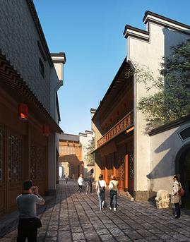 安徽省城乡规划展示馆隐框玻璃幕墙设计效果图