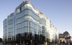 北京吉祥大厦隐框玻璃幕墙设计施工案例