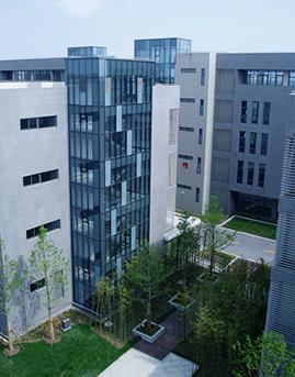 上海国际医学院幕墙施工效果图