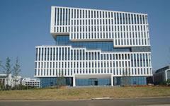 宣城市图书馆框架式石材幕墙设计案例