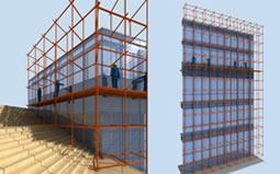 单元式幕墙工程施工组织设计|框架幕墙安装措施