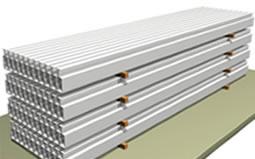 幕墙材料及板块运输成品保护