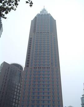 南京新世纪广场单元式明框幕墙设计效果图