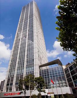 上海廖创兴金融中心大厦单元式幕墙设计效果图