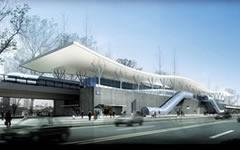 北京地铁亦庄线车站金属幕墙设计案例