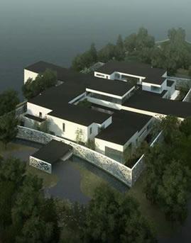 北京雁西湖国际会都(核心岛)幕墙设计效果图