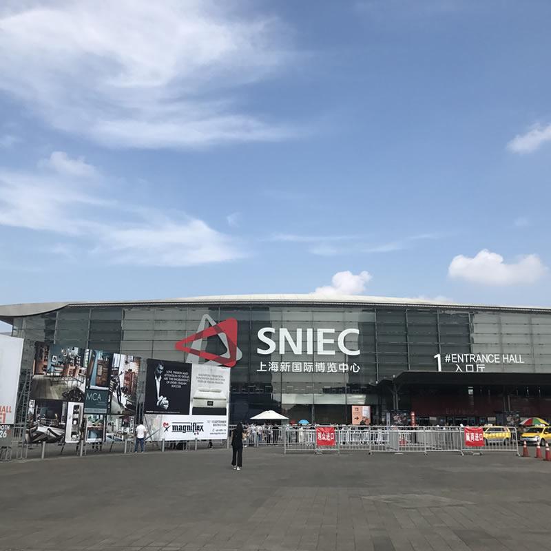 上海新国际博览中心隐框玻璃幕墙设计案例