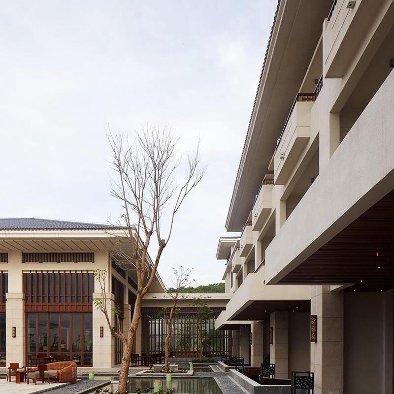 博鳌国宾馆石材幕墙装修设计案例