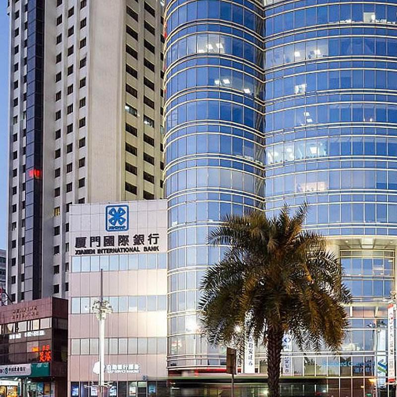 厦门国际银行大厦金属幕墙,玻璃幕墙设计案例