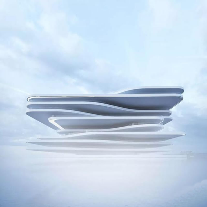 艺型建筑师的idea,惊艳了整个异形建筑设计圈
