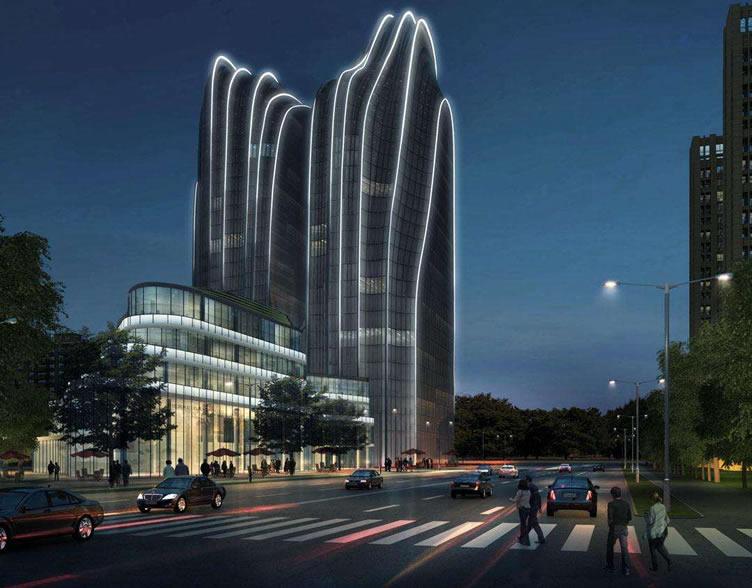 超高层艺型单元式玻璃幕墙设计要点