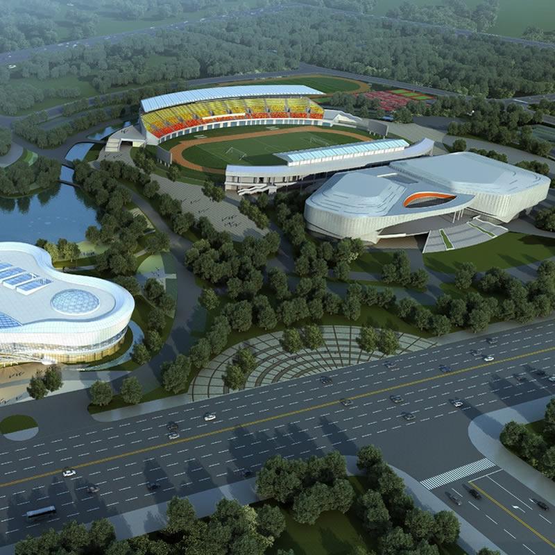 固始县文化体育中心