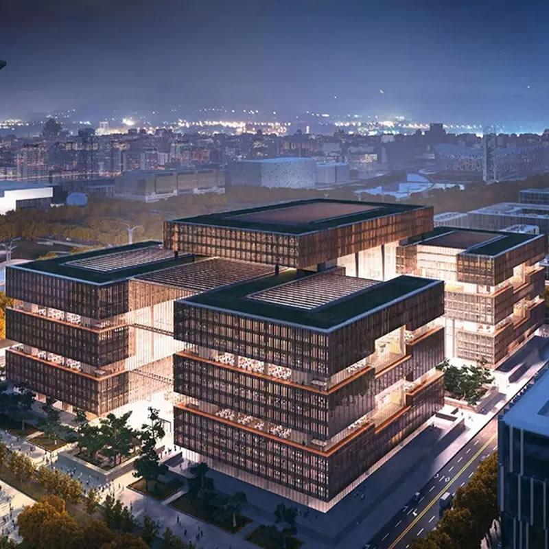 亚洲基础设施投资银行总部永久办公场所项目幕墙工程