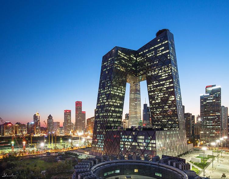 探寻艺形建筑之美 ――央广大楼