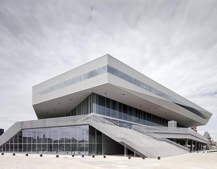 金属扩张网建筑幕墙打造地标建筑――丹麦奥胡斯市的Dokk1图书馆