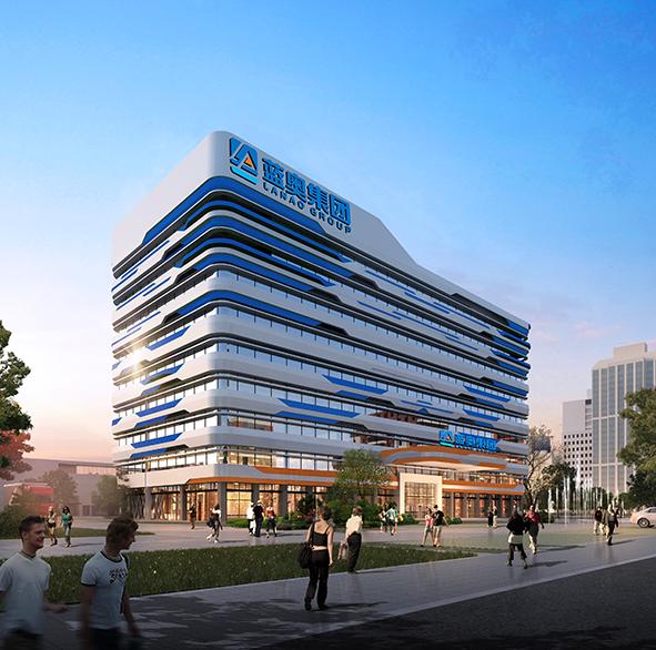 河南蓝奥智能家居产业园8#楼幕墙工程