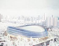 """艺型建筑之北京2022年冬奥会场馆国家速滑馆――""""冰丝带"""""""