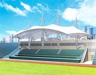 膜结构建筑幕墙应用在体育建筑中的三大优点