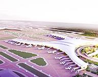 机场单索玻璃幕墙系统具体案例介绍