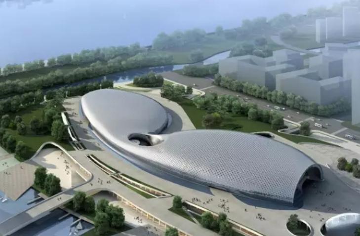 杭州这个双曲面幕墙项目真是令人脑洞大开!