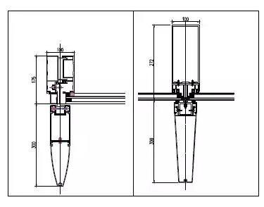 铝合金型材装饰线条结构设计分析