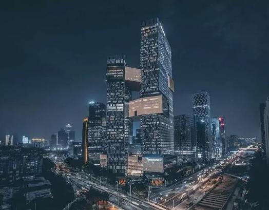 """中国8大城市""""夜景""""航拍!幕墙绝对是加分项"""
