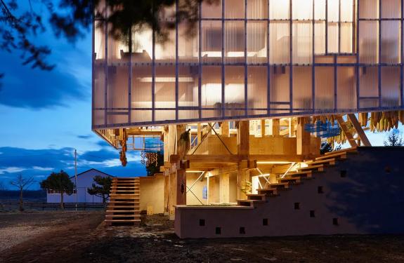 材料的半透明结构,让建筑亦有朦胧美!(一)