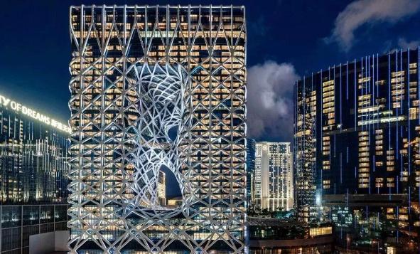 全球首个网架结构幕墙是如何实现的?
