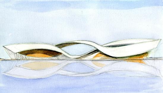 """在苏州湾畔起舞的诗意""""飘带"""",完美立面造(二)"""