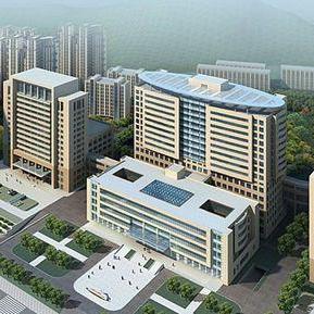 湖北省广州军区武汉总医院门诊综合大楼