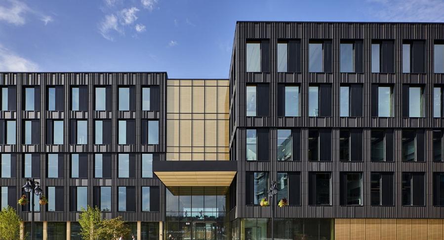 自给自足的纯木建筑――华盛顿Catalyst大楼