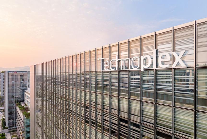 赏析|韩国Technoplex办公楼