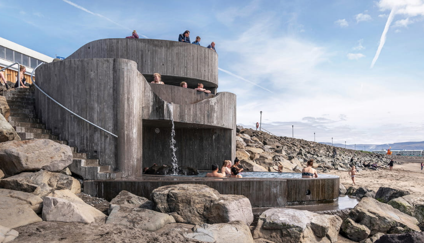 赏析 | 冰岛螺旋浴场