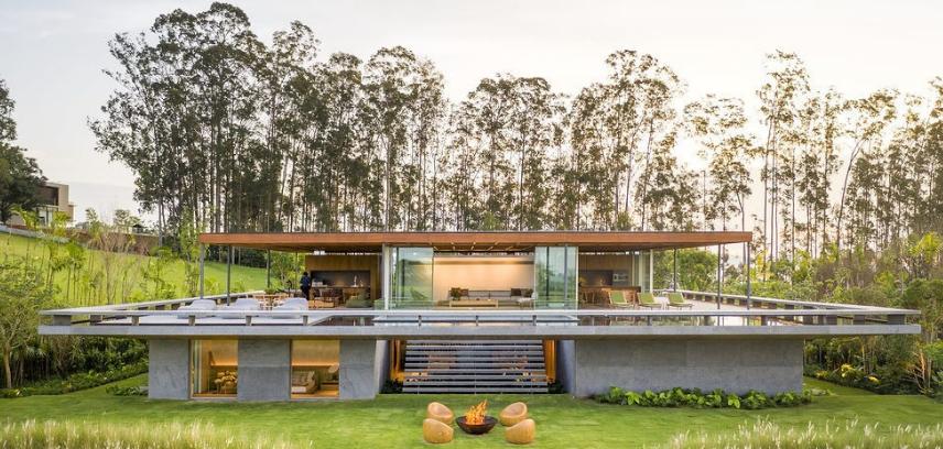 从家具到建筑,皆为艺术品丨巴西MS住宅