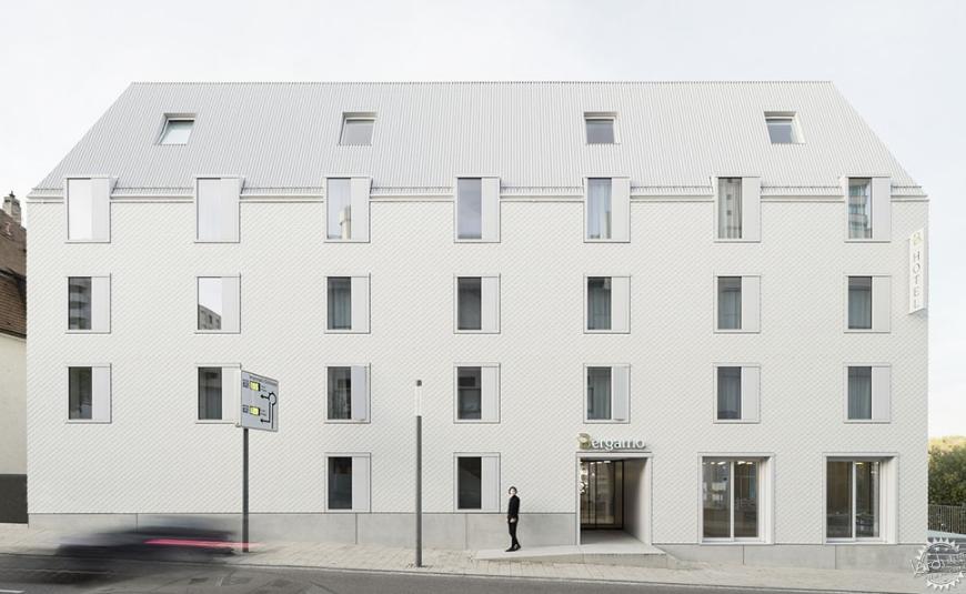 二氧化碳中性建筑 | 德国Bauhofstrasse酒店