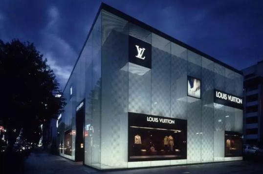 """惊艳!双曲面玻璃+幻彩膜, LV御用设计师为银座新店设计""""水光感""""立面(二)"""