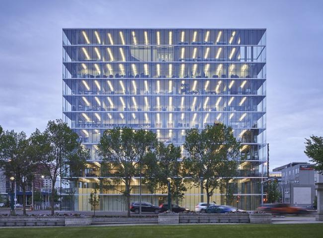 新能源空间――加拿大Edge办公大楼