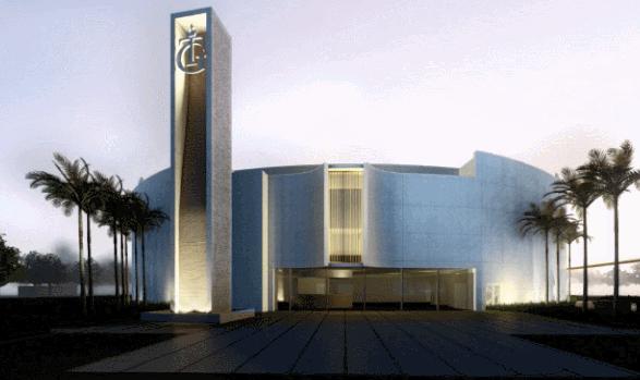 光的心灵庇佑所――美国TABERNACLE OF GLORY教堂外立面及空间优化设计