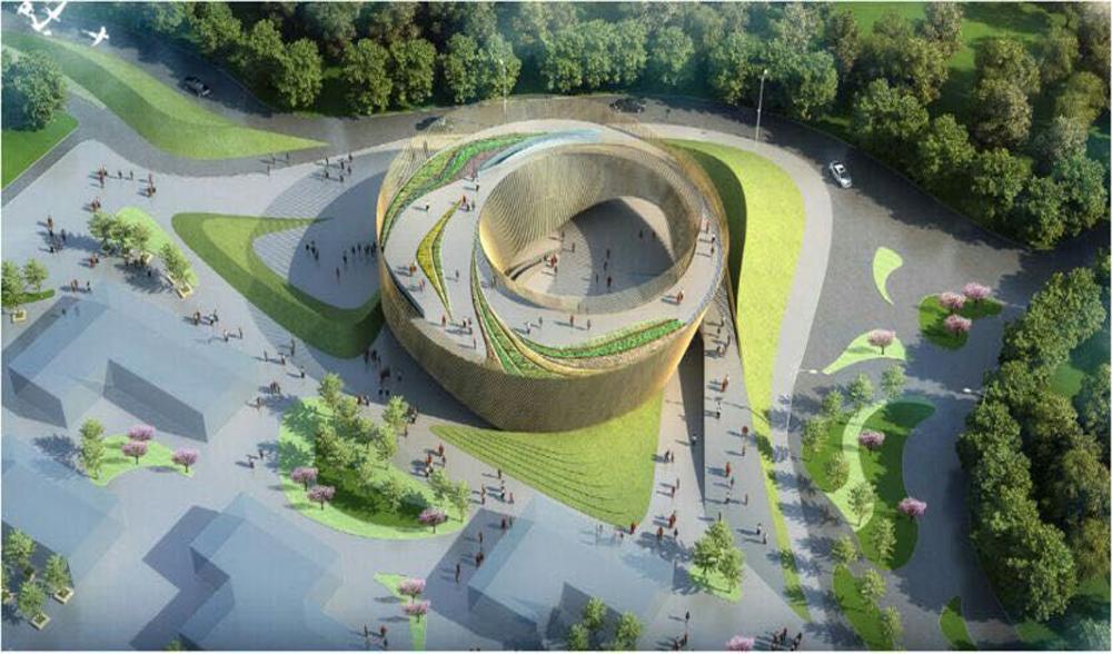 郑州国际园林博览会园博园儿童馆玻璃幕墙设计方案