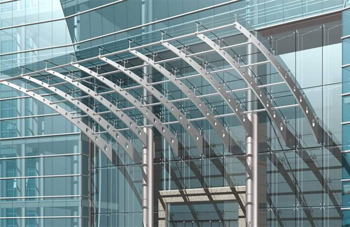 皇家一里玻璃幕墙设计方案