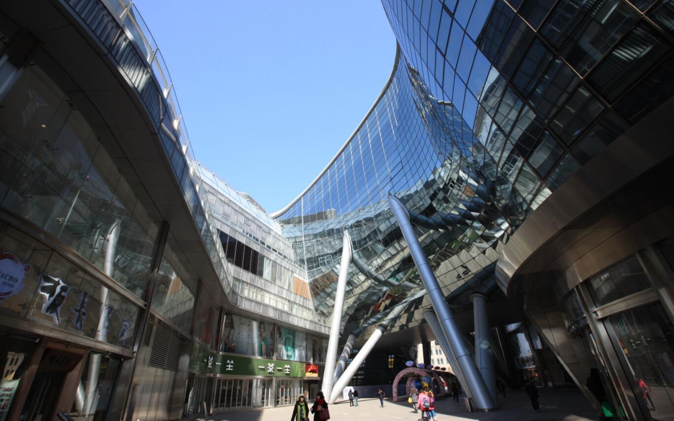 恒隆广场玻璃幕墙设计效果图