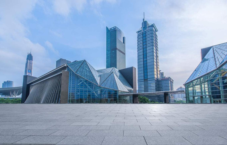 深圳图书馆玻璃幕墙,异形幕墙设计案例图片