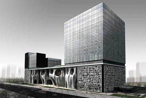 上海喜马拉雅中心玻璃幕墙设计施工案例塞拉维六合无绝对片