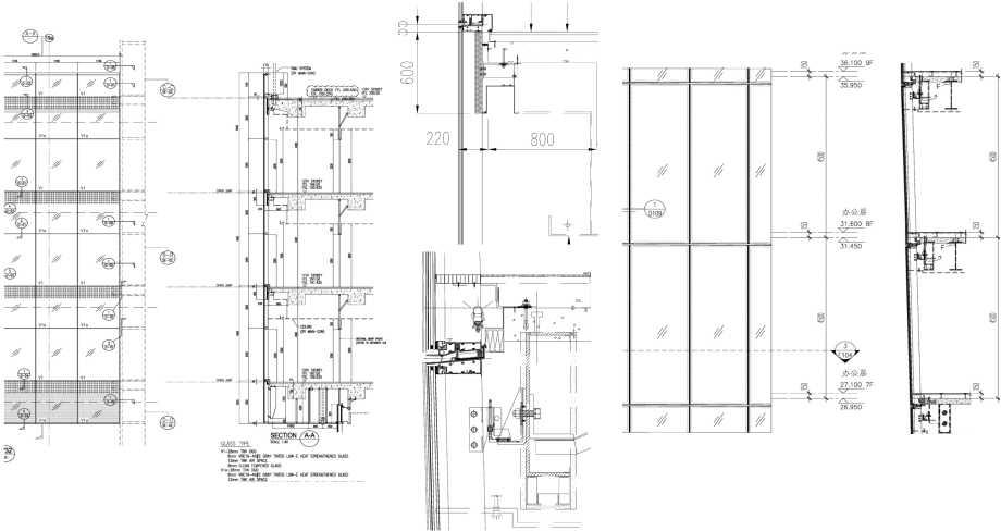 幕墙设计介绍|玻璃的选择及幕墙合理的分格形式
